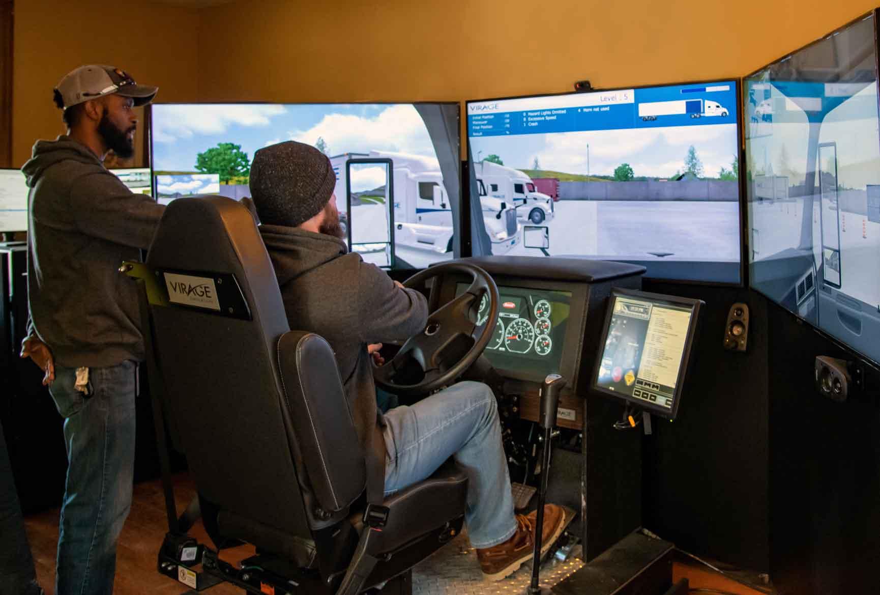 Read more about the article Simulators Are A Great Resource For Truck Driver CDL Training and Testing Preparation